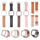 Replacement Genuine Leather Watch Strap Band For Fitbit Blaze Parts Accessories
