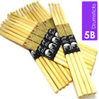 Drum Sticks 5B Drumsticks Maple High Quality Wood tip Pro Feel Multi Pack Save