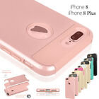 ShockProof Hybrid Rubber Protective Hard Case Cover For Apple iPhone 8 / 8 Plus