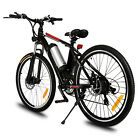 18''25''250W Electric Mountain Bicycle Variable Speed Lithium Battery Cup Holder