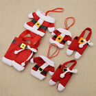 Cutlery Holder Christmas Table Decor Santa Clothes Tableware Small Bag Party DIY