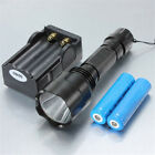 LT-C8 XM-L 1*T6 2000LM White Light 5-Mode Flashlight Black US Free Shipping