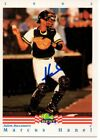 Marcus Hanel 1992 Classic Best Signed Card