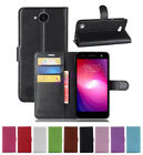 Flip Magnetic Card Wallet PU Leather Case Cover For LG X Charge / LG X Power 2