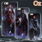 Dark Avengers Cover for LG Q6, Quality Design Painted Case WeirdLand