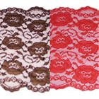 Spandex Lace Luxuriously Soft-8-inch Wide-As Low As .72 a yard! - 4 Color Choice