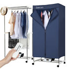 FAST Quick Electric Clothes Dryer Portable Wardrobe RV Machine Home Drying Rack photo