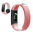 Heart Rate Smart Band Healthy Fitness Tracker Bluetooth Wristband for Smartphone