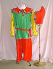 Kids Unisex Gnome Costume Multi-Colored Fairy Elf Fantasy Christmas