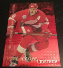 1999-2000 Be A Player Millennium Signature Series RUBY Nicklas Lidstrom! /1000
