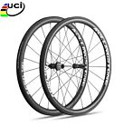 UCI Approved Rolling Stone 40Aero High TG Carbon Road wheelset 700c 40mm clinche