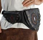 'SHADOW NEW' - Handmade Leather Utility Belt - BLACK