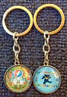 The Grateful Dead ~Cabochon Glass Dome Keychain Key Ring ~Dancing Bears