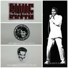 New Elvis Presley Embroidered Patch Sew On Iron Rock n Roll ROCKABILLY Appliques