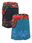 New Butterfly Mid Length Wrap Boho Skirt Hippie Clothes up to Plus Size