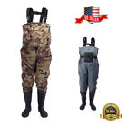 Waterproof  Fly Fish Waders Breathable Chest Wader With Stocking Foot with Shoes
