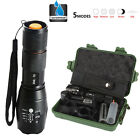 1000lm CREE XML - T6 Zoomable Flashlight LED Torch Lamp Light 18650/AAA Battery