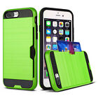 Shockproof Slim Sleek Case With Credit Card Holder Case For iPhone 8 8 Plus