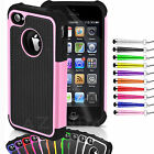 iphone4 iphone5 Case Shock Proof Heavy Duty Protective Hybrid Anti-Scratch Cover