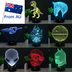 Star Trek USS Death Star 3D Lamp Acrylic LED Night Light 7 Color Touch Base Gift