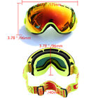 Anti-UV Ski Goggles Double-layer lens Mirror Snowboard Glasses Windproof Outdoor