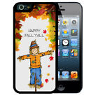 THANKSGIVING RUBBER CASE FOR iPHONE X 8 7 6S SE 5C 5S PLUS SCARECROW FALL YALL