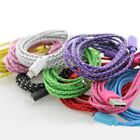 2 Metre 6 ft microUSB Braided Fabric Charger Cable For Samsung Nokia LG