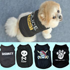 New Cat Small Dog Puppy Vest T-Shirt Coat Pet Clothes Summer Apparel Costumes