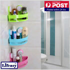 4pcs Corner Shelf Organizer Storage Holder with Suction Cup Bathroom Shower room