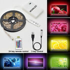 50-200CM USB LED Strip Light TV Back RGB Color Changing Battery Powered Strip