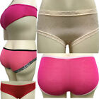 US Ladies Lace Bamboo Cotton Pants Briefs Lingerie Womens Underwear Short Panty