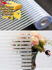 Kyпить Stripe Frosted Glass Film Static Cling Office Bedroom Bathroom Home Window Tint на еВаy.соm