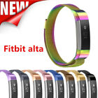For Fitbit Alta HR and Fitbit Alta Replacement Milanese Loop Stainless Large/S