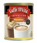 Caffe DVita Hazelnut Cappuccino, 1-Pound Cans Pack of 6