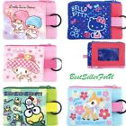 new egg credit card - Sanrio Two Zipper Bag Coin Purse Credit Card Case Key Holder Wallet w/ ID Window