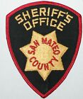 Very Old SAN MATEO COUNTY SHERIFF'S OFFICE California CA Co SO Vintage Used Worn