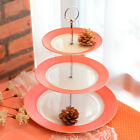 3Tier Radian Alloy Cake Plate Cupcake Fitting Chirstmas Party Home Wedding Decor