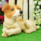 Dog Ornament Home Garden Lawn Patio Sculptures animal Jack Russell Terrier Dogs