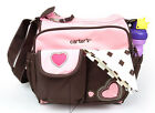 New Carter's Baby Diaper Nappy Bag Changing Sweet Heart Mummy Handbag Pink