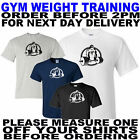 gym weight lifting training t shirt all sizes to 5xl