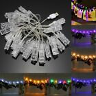 USB 2.2M 20LED Photo Peg Clip Shapes DIY Fairy String Light Xmas for Hanging Pic