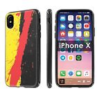 iPhone X [Black] [Ultra Slim Cover Case]  For iPhone X  Design [G]