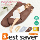 U Shaped Body Pillow Belly Maternity Pregnancy Nursing Feeding Body Support Snug