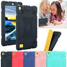 For Amazon Kindle Fire 7 7th Gen Kids Safe Rubber Shockproof Rugged Case Cover