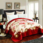 Pure cashmere blanket Upscale wool blanket Stand velvet Retro bed sheet