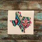 TEXAS Decal, Serape, Lily - VINYL Car Window DECAL Sticker - Pick Your Color, 4""