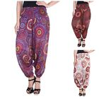 Women's Harem Printed Trousers Baggy Causal Trouser Casual Pant Dotted 2009