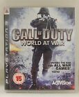 Activision Plyastation 3 CALL OF DUTY WORLD AT WAR - Video Game - PAL Region