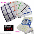 MULTI-PURPOSE PACK OF 5 MICROFIBER KITCHEN TEA TOWELS QUICK DRYING ABSORBENT NEW