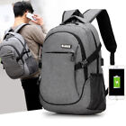 Kyпить Anti-Theft Backpack USB Charging Port & Cable Rucksack Laptop School Travel Bag на еВаy.соm